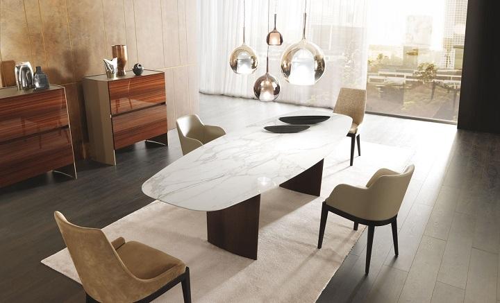 Стол ALA, разработанный Ферруччо Лавиани для MisuraEmme