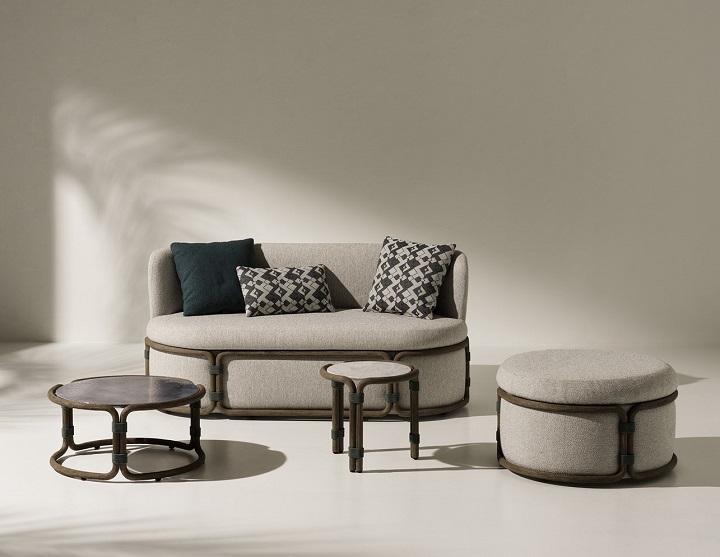Новинки: Уличная мебель Ethimo от Zanellato и Bortotto вдохновлена Востоком