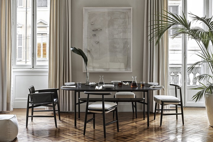 Новинки: Meridiani представляет новую коллекцию мебели