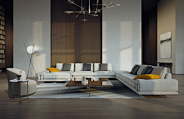 Turri и Джузеппе Вигано представляет новые предметы интерьера для спален и жилых помещений