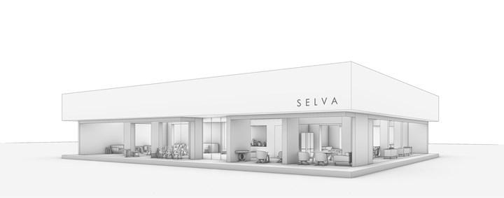 Флагманский магазин Селва в Милане