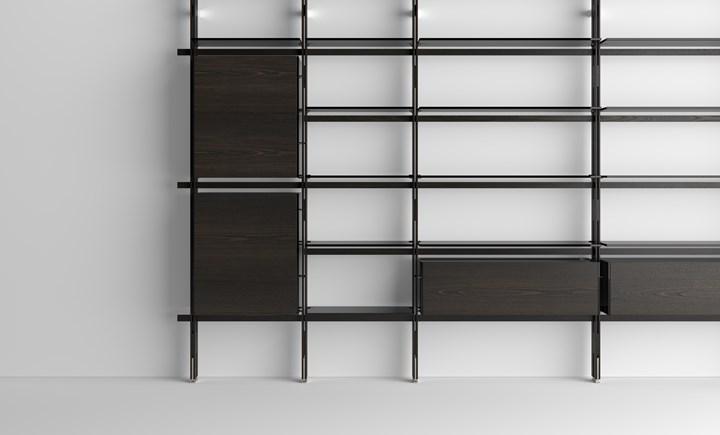 Книжный шкаф HEMINGWAY, дизайн Массимо Кастанья