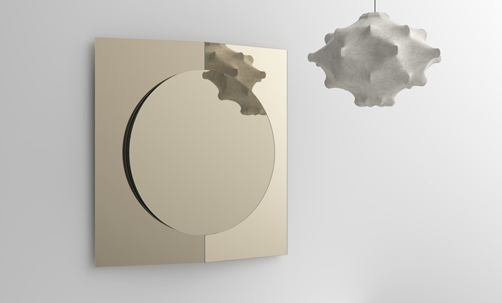 Зеркало Central Mirror, дизайн Франческо Форчеллини