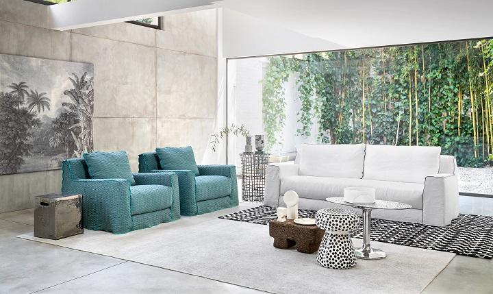 Новинки: Коллекция Gervasoni 2021 на мебельной выставке в Милане 12—23 апреля