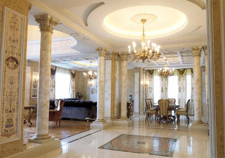 Реализации: Дом в классическом стиле от Rampoldi Creations